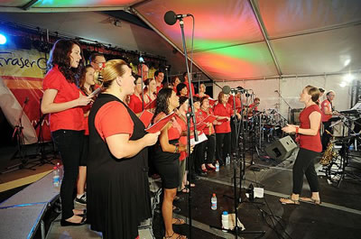 HERVEY BAY CAROLS 2010