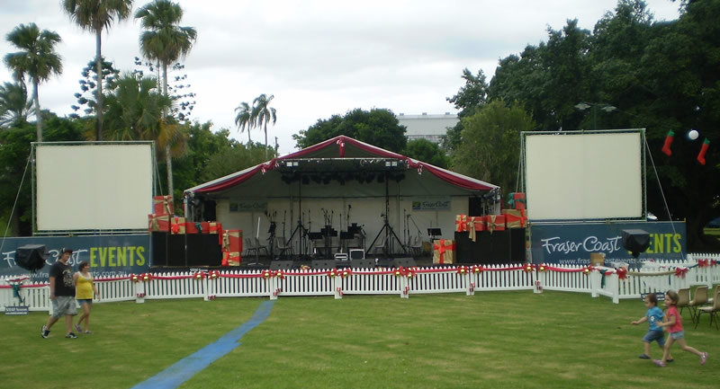 Maryborough Carols Stage