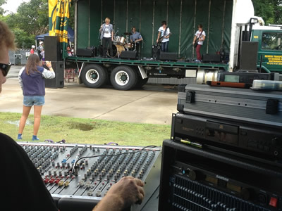 Youth week concert Rock off Hervey Bay